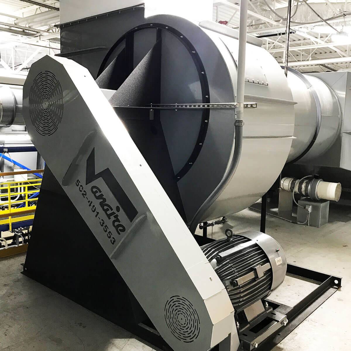 Pvc Fans And Blowers : Pvc centrifugal fans blowers vanaire