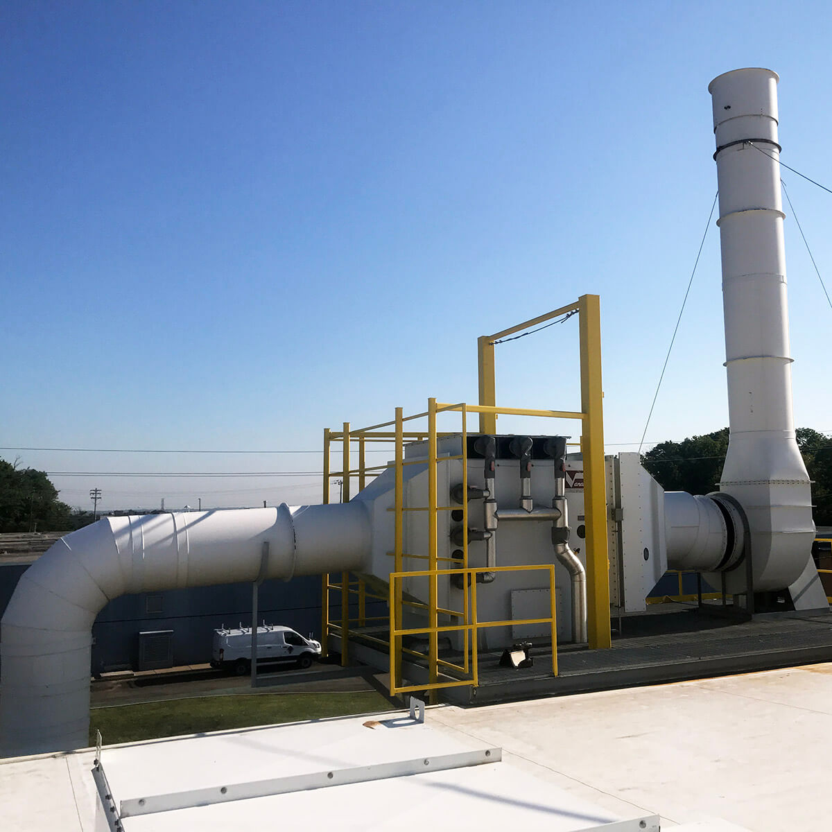 Duct Mist Eliminator : Air pollution control and ventilation systems vanaire