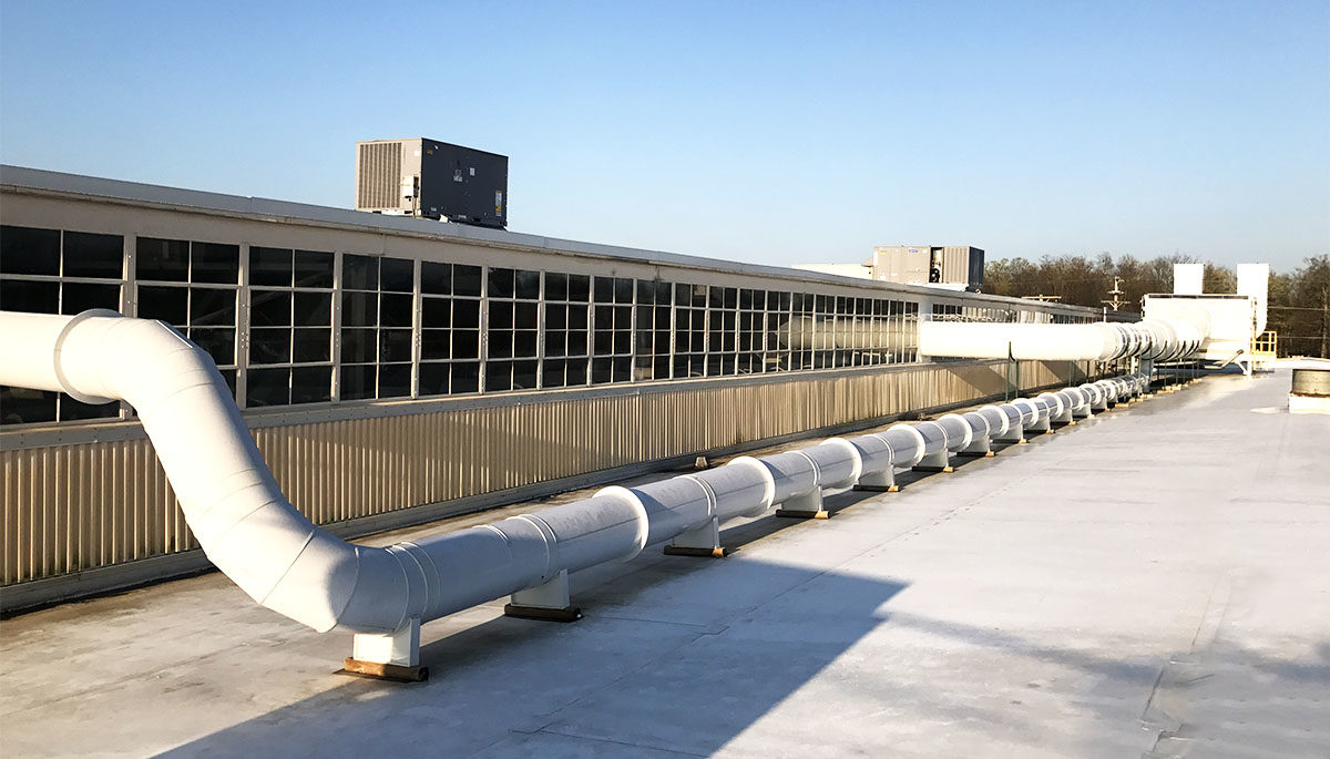 Pvc duct systems ductwork vanaire