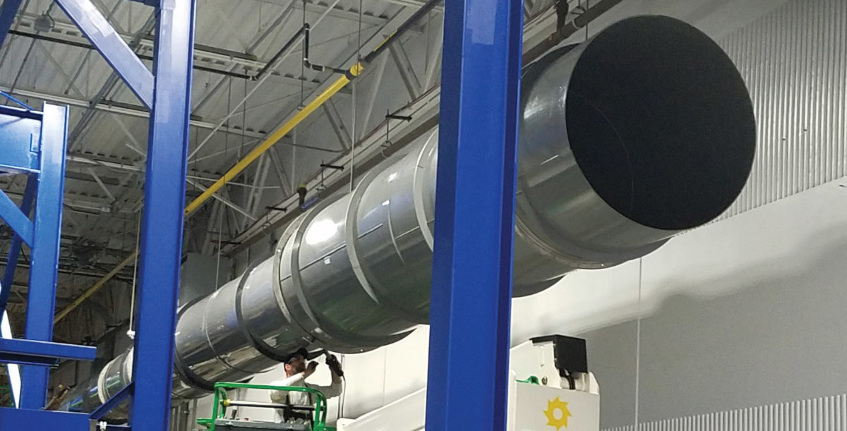 Vanaire pvc duct systems